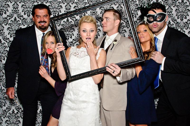 wedding-photobooth-bride-groom Nashville Wedding Photo Booth | Amanda + Justin