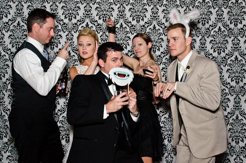 wedding-photobooth-crazy-pictures Nashville Wedding Photo Booth | Amanda + Justin