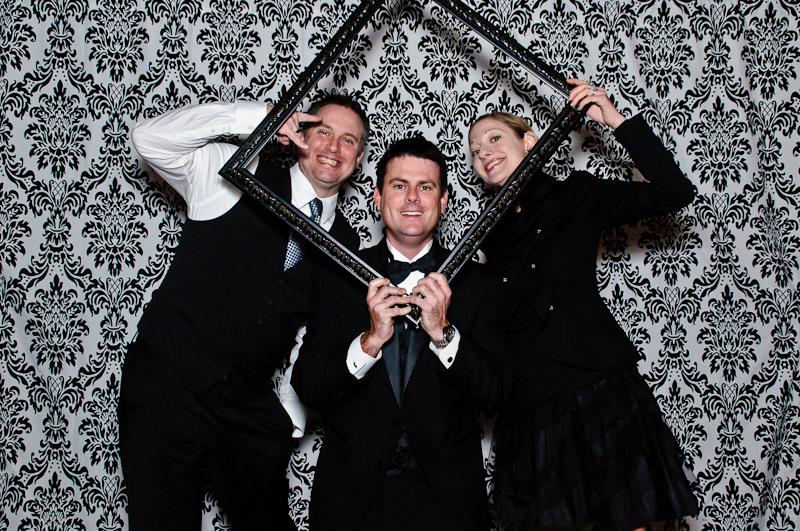 wedding-photobooth-frame-prop Nashville Wedding Photo Booth | Amanda + Justin