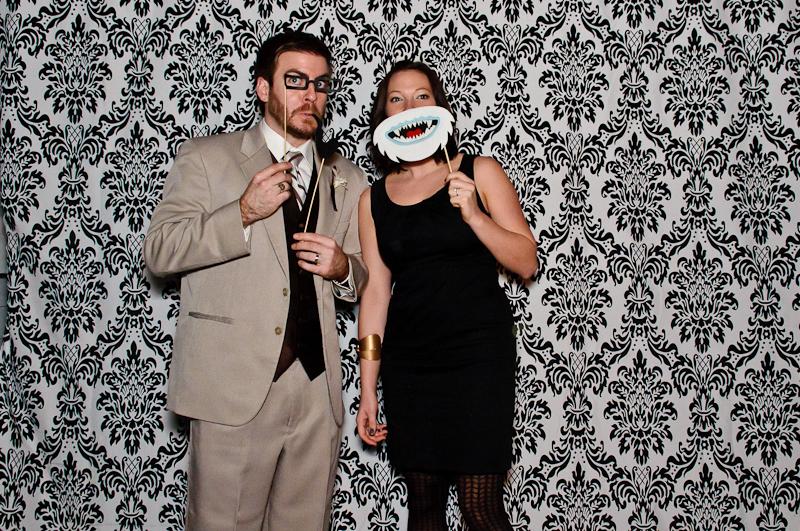 wedding-photobooth-props Nashville Wedding Photo Booth | Amanda + Justin