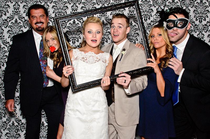 wedding-photobooth-reception-party Nashville Wedding Photo Booth | Amanda + Justin