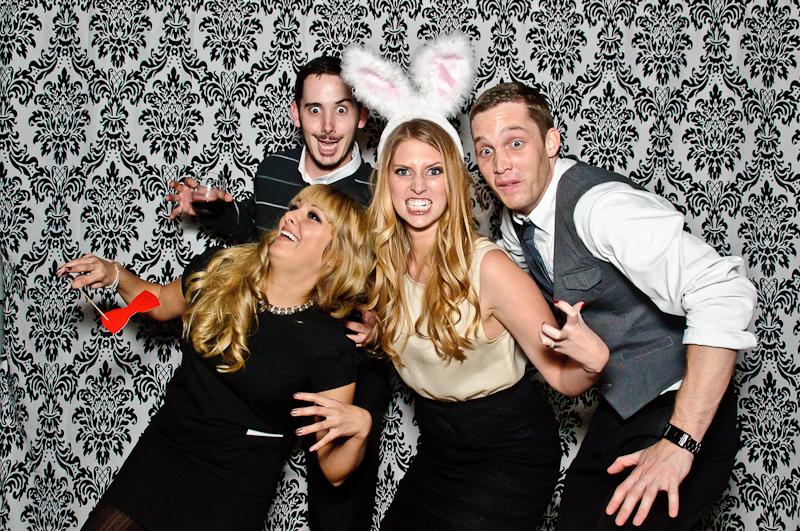 wedding-photobooth-silly-posing Nashville Wedding Photo Booth | Amanda + Justin