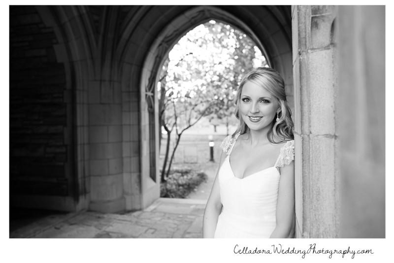 black-and-white-bride-scarritt-bennett-800x534 Laura and Kevin Nashville Wedding at Scarritt Bennett