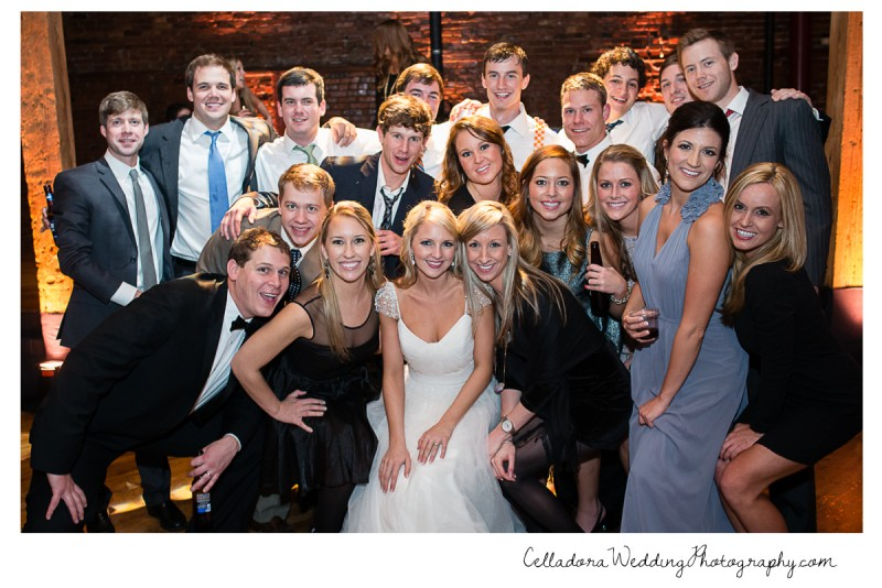 bride-and-groom-with-sorority-and-fraternity-800x534 Laura and Kevin Nashville Wedding at Scarritt Bennett
