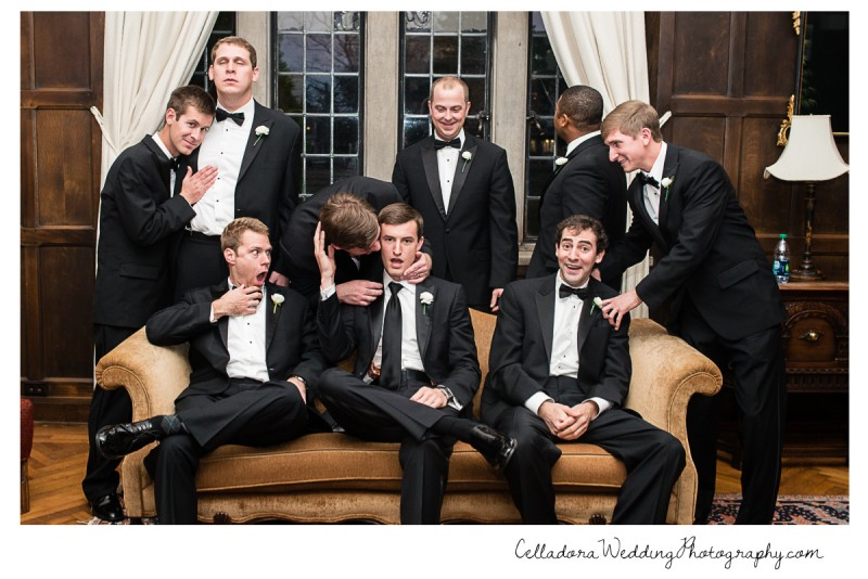 groomsmen-portrait-800x534 Laura and Kevin Nashville Wedding at Scarritt Bennett