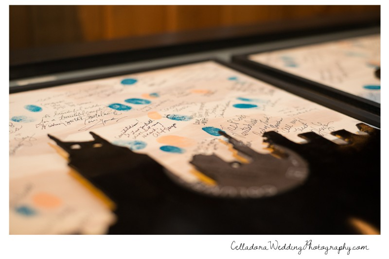 nashville-record-guestbook-800x534 Laura and Kevin Nashville Wedding at Scarritt Bennett