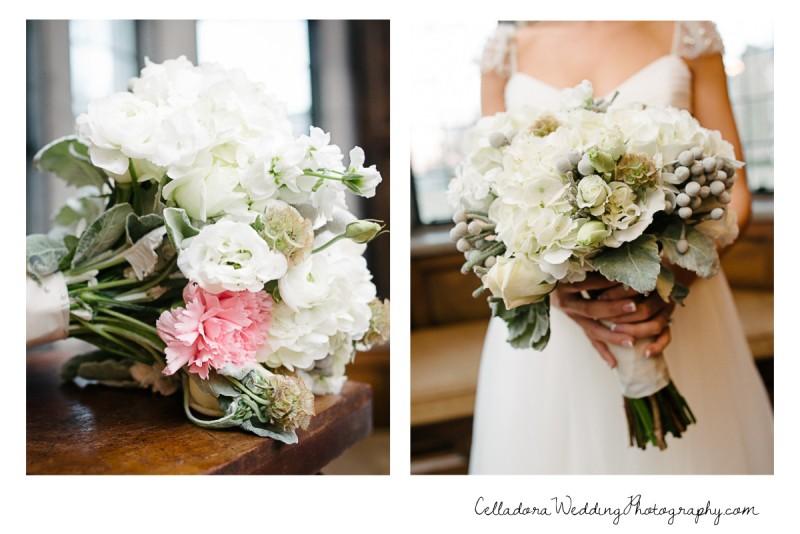 wedding-bouquet-hidden-pink-rose-800x534 Laura and Kevin Nashville Wedding at Scarritt Bennett