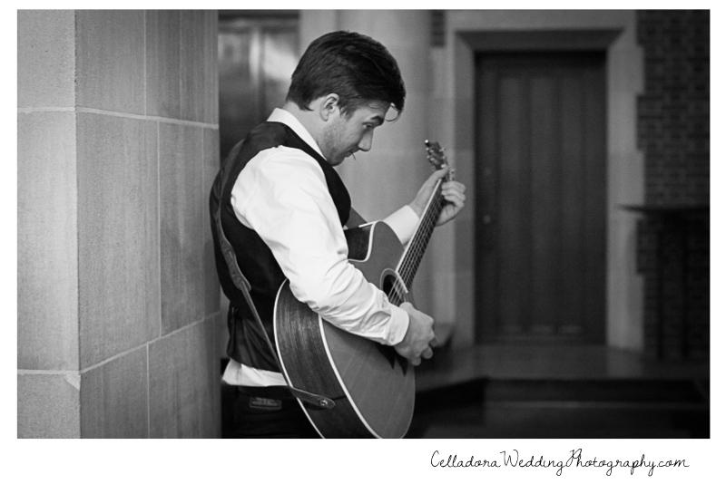 wedding-guitarist Laura and Kevin Nashville Wedding at Scarritt Bennett