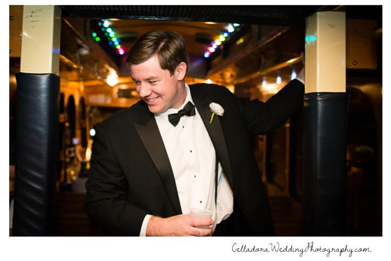 wedding-party-bus Laura and Kevin Nashville Wedding at Scarritt Bennett