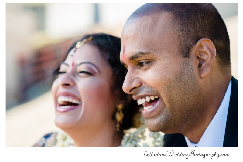 bride-and-groom-laughing-800x534 Nashville Indian Wedding Photographer