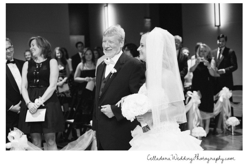 bride-walking-down-aisle-800x534 Nashville Wedding Photography | WO Smith Music School