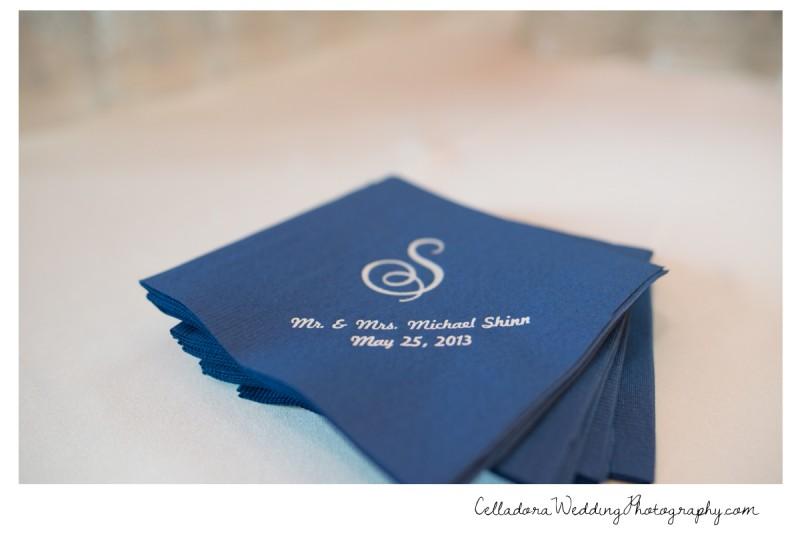 wedding-napkins-monogram-800x534 Nashville Wedding Photography | WO Smith Music School