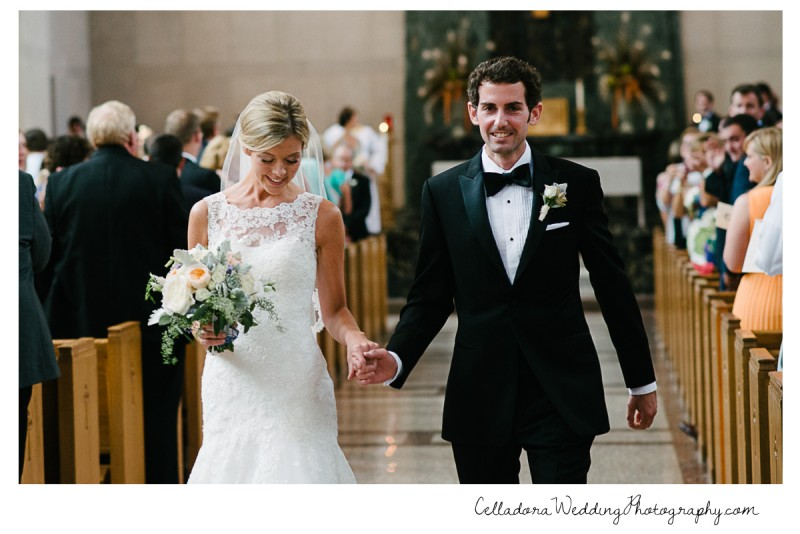 bride-and-groom-church-800x534 John + Lindsay Downtown Nashville Wedding