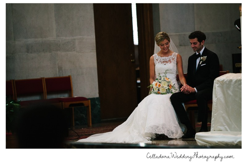 bride-and-groom-holding-hands-church-800x534 John + Lindsay Downtown Nashville Wedding