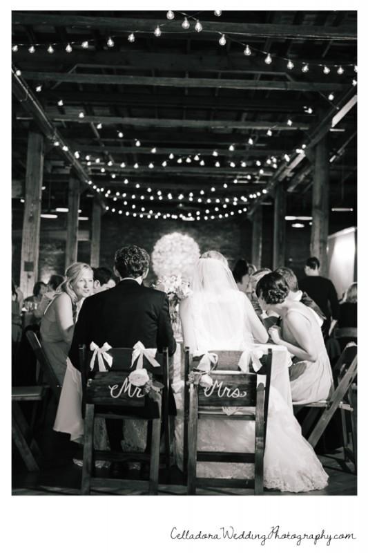 bride-groom-at-reception-533x800 John + Lindsay Downtown Nashville Wedding