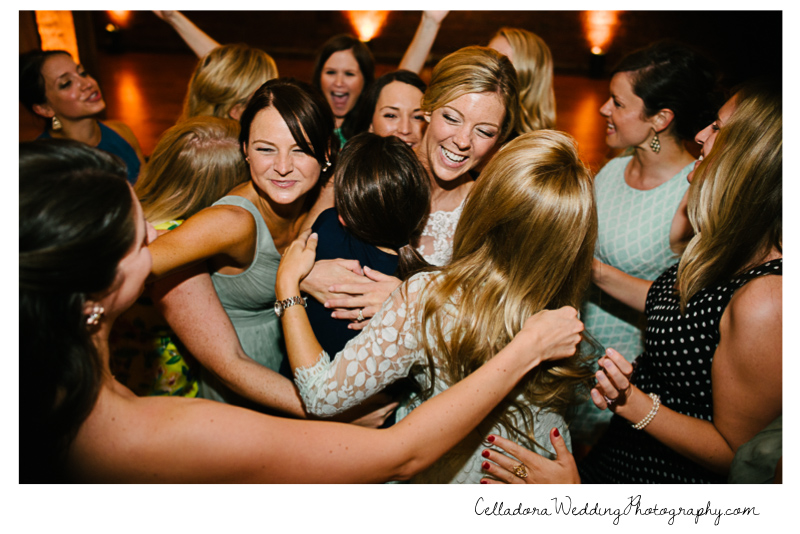 bride-with-sorority-sisters John + Lindsay Downtown Nashville Wedding
