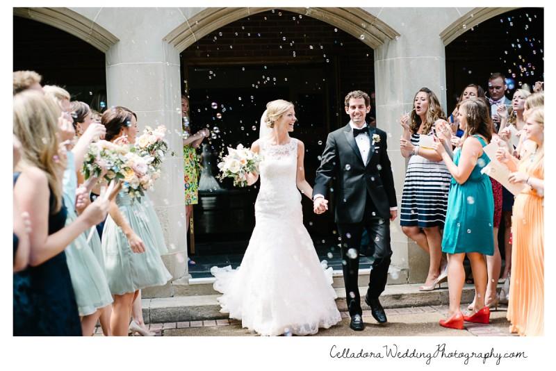 bubble-exit-800x534 John + Lindsay Downtown Nashville Wedding
