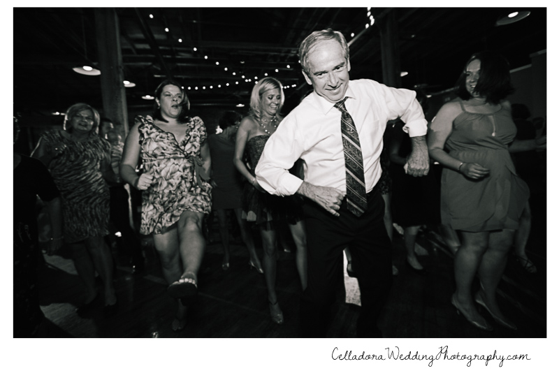 dancing-wedding John + Lindsay Downtown Nashville Wedding