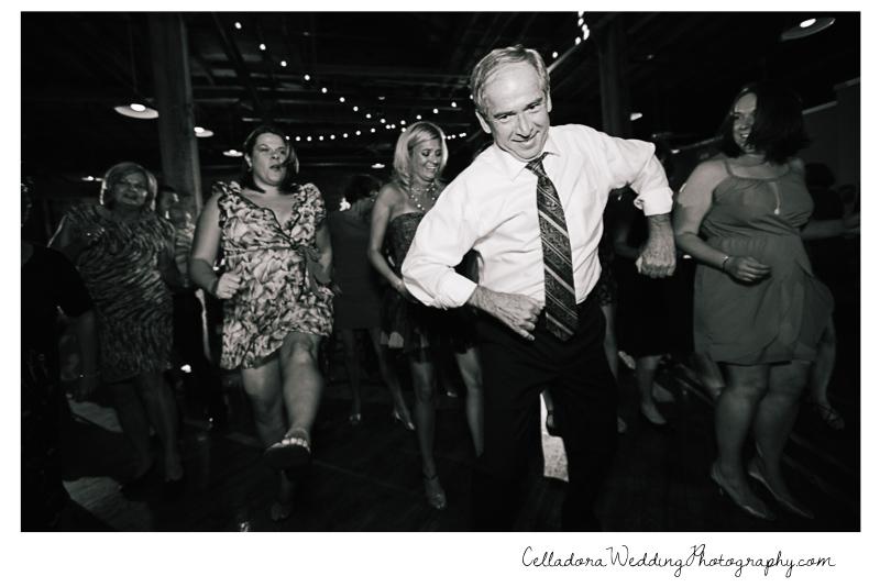 dancing-wedding John + Lindsay Downtown Nashville Wedding