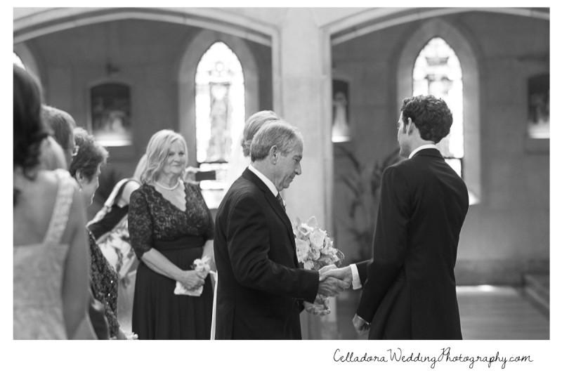 father-of-bride-shaking-groomshand-800x534 John + Lindsay Downtown Nashville Wedding