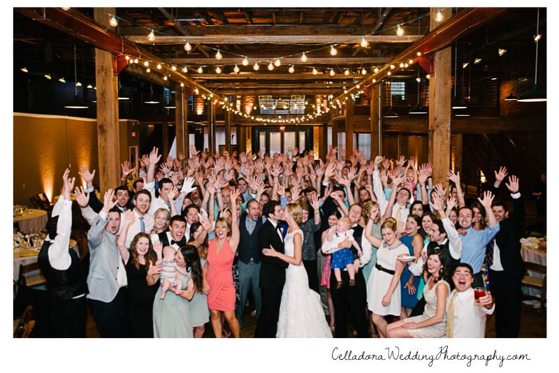 full-wedding-photo-at-avenue-nashville John + Lindsay Downtown Nashville Wedding