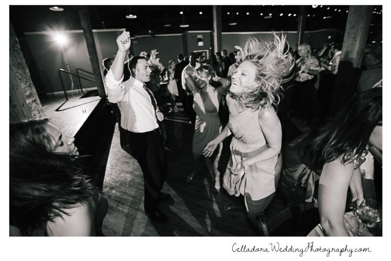 hair-flip John + Lindsay Downtown Nashville Wedding