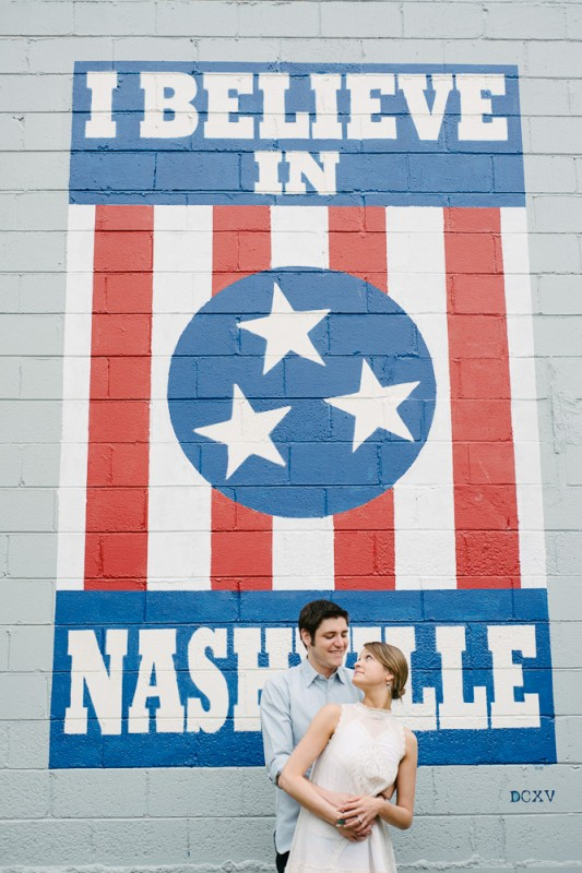 i-believe-in-nashville-wall-couple-533x800 Edwin Warner Park Engagement Session | Taylor + William