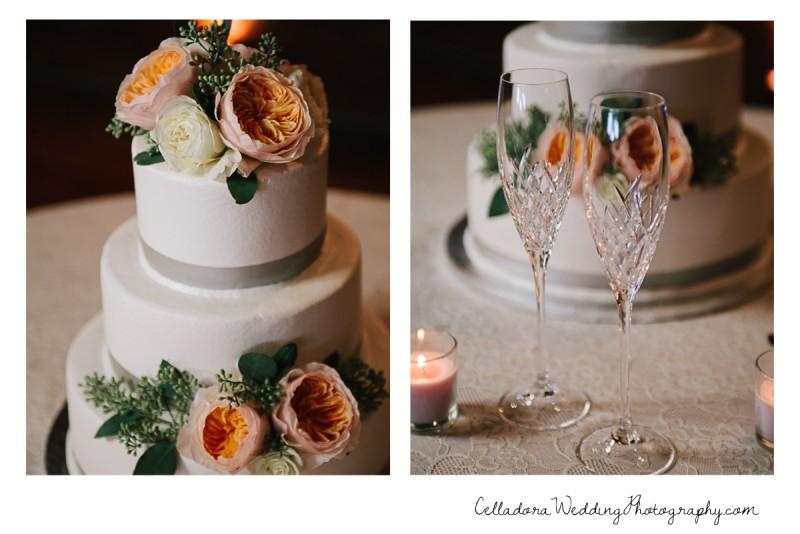 nashville-wedding-cake-800x534 John + Lindsay Downtown Nashville Wedding