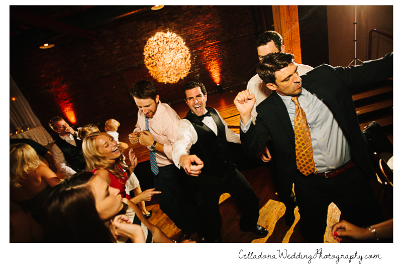 wedding-reception-nashville-dancing-fun John + Lindsay Downtown Nashville Wedding