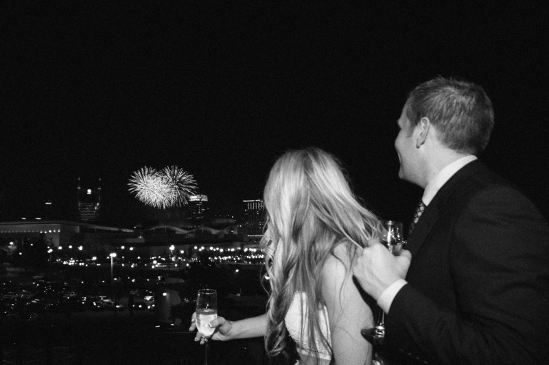 4th-of-july-wedding-fireworks-800x533 One Cannery Ballroom Nashville 4th of July Wedding | Brian and Jenna