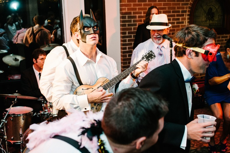 batman-at-wedding-reception-800x532 Blair + Hunter Brentwood, TN Wedding