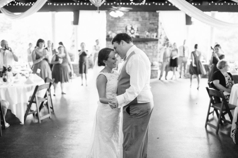 black-and-white-wedding-dance-800x533 Catherine and Zach Hermitage, TN Outdoor Wedding