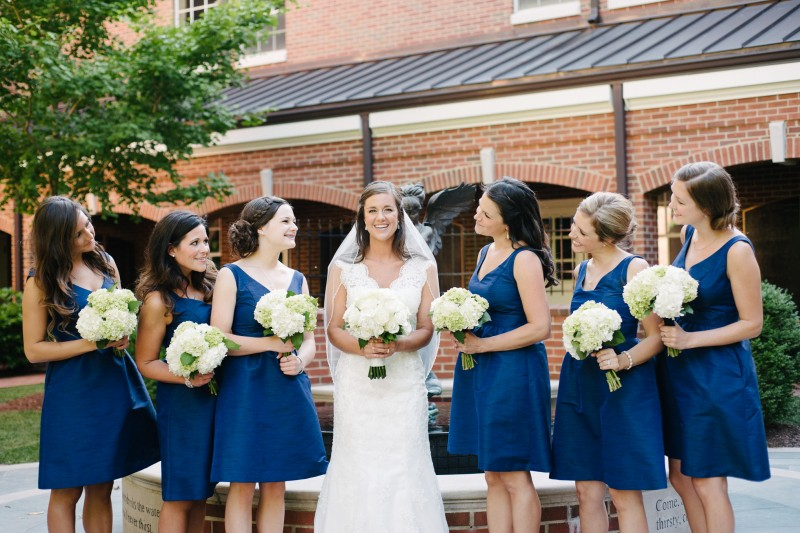 bride-and-bridesmaids-brentwood-800x533 Blair + Hunter Brentwood, TN Wedding