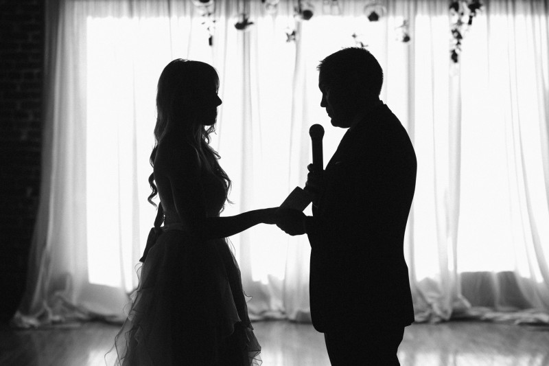 bride-and-groom-silhouette-800x533 One Cannery Ballroom Nashville 4th of July Wedding | Brian and Jenna
