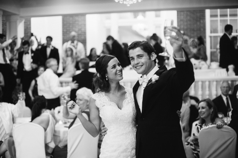 bride-groom-toast-800x532 Blair + Hunter Brentwood, TN Wedding