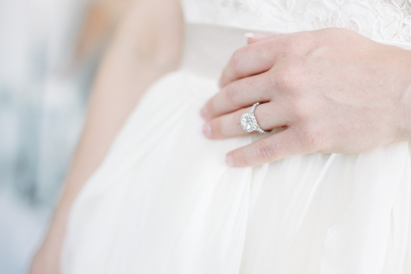 bride-wedding-ring-800x533 One Cannery Ballroom Nashville 4th of July Wedding | Brian and Jenna