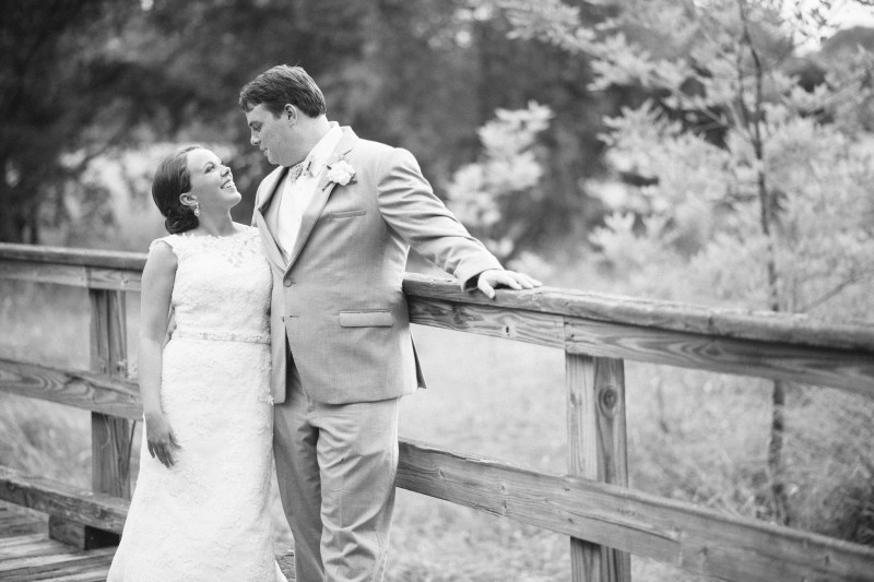couple-on-bridge-800x533 Catherine and Zach Hermitage, TN Outdoor Wedding