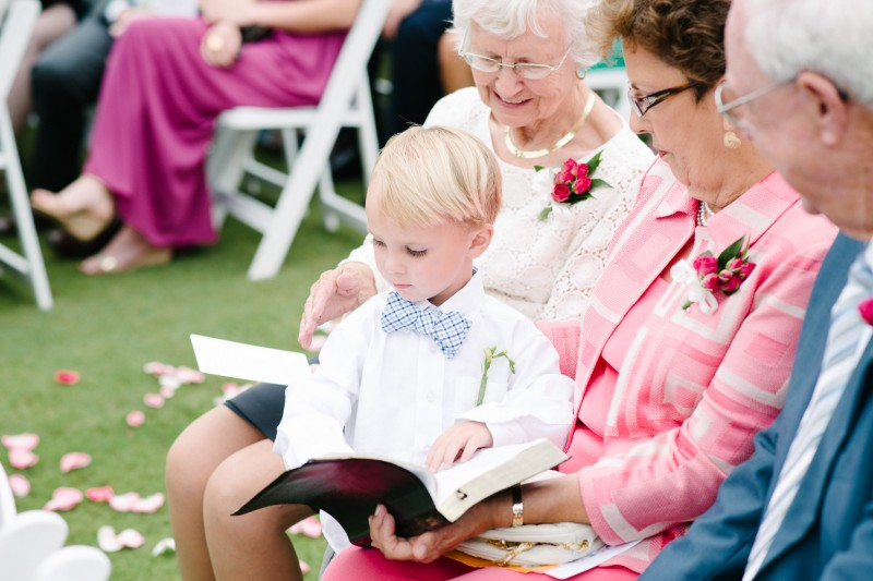 ring-bearer-with-bible-800x533 Catherine and Zach Hermitage, TN Outdoor Wedding