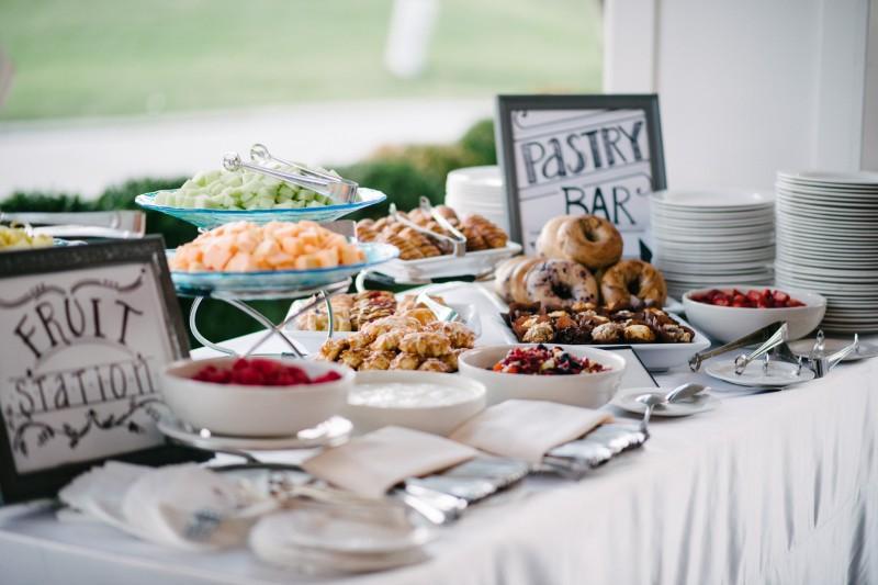breakfast-bar1-800x533 Opryland Hotel Wedding in Nashville, TN - Dawn + Keith