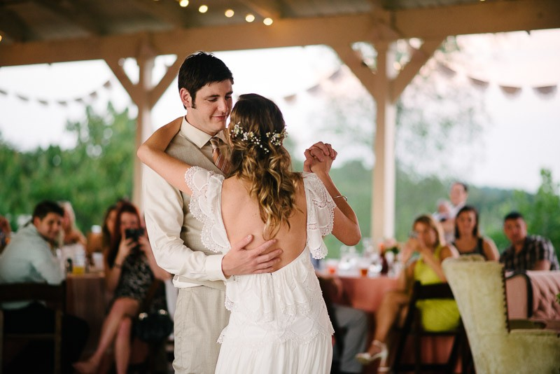 first-dance-800x534 Front Porch Farms Wedding - Taylor and William