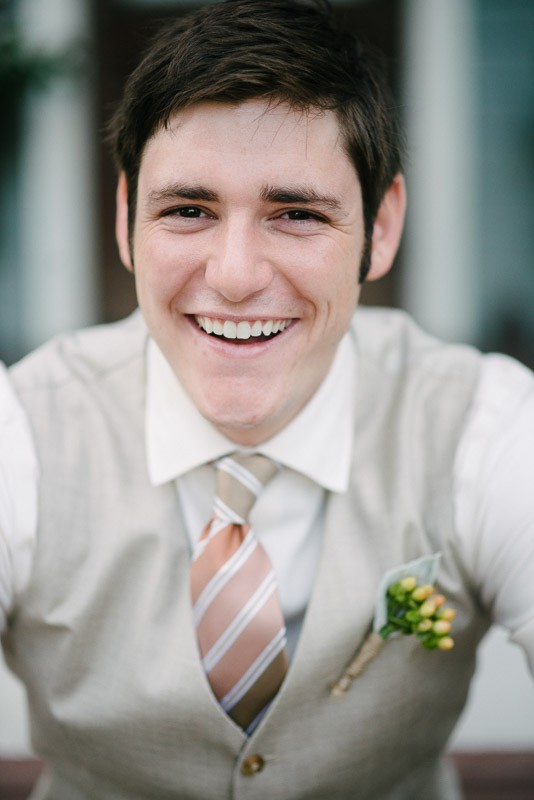 smiling-groom-534x800 Front Porch Farms Wedding - Taylor and William