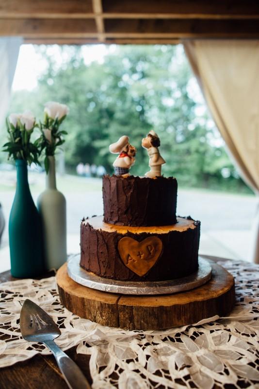 wedding-cake-fun-toppers-534x800 Outdoor Barn Wedding | Murfreesoro, TN | Paul and Amanda