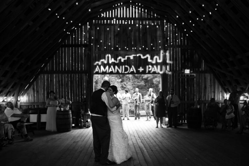 wedding-first-dance-black-and-white-800x534 Outdoor Barn Wedding | Murfreesoro, TN | Paul and Amanda