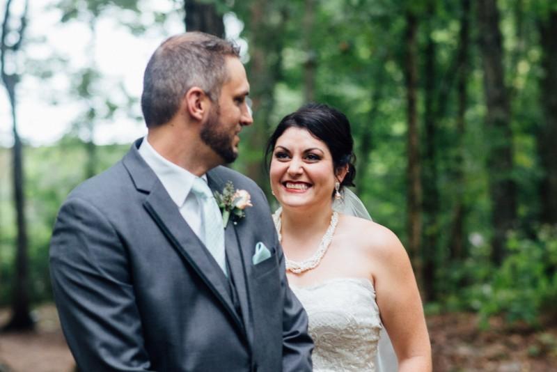 wedding-first-look-800x534 Outdoor Barn Wedding | Murfreesoro, TN | Paul and Amanda