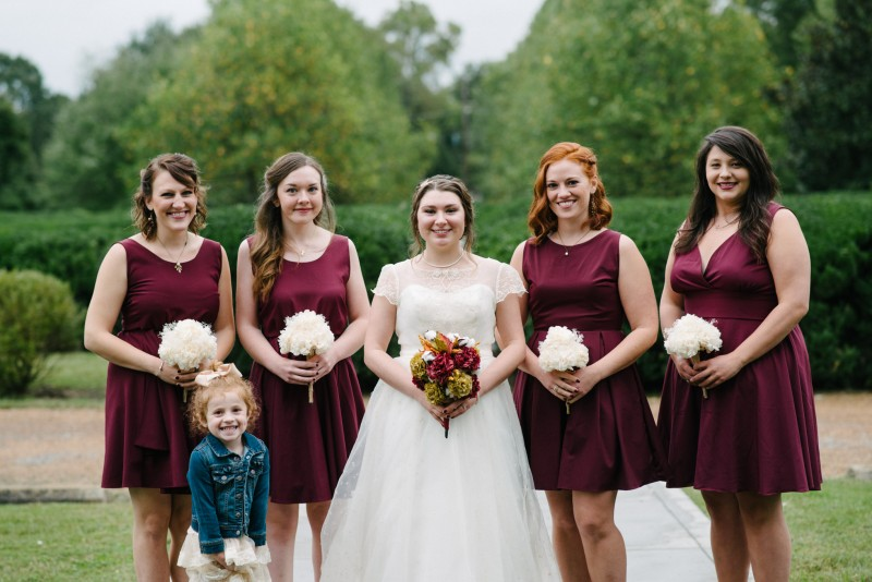 cute-flower-girl-800x534 Two Rivers Mansion Fall Wedding | Kristen and Chris