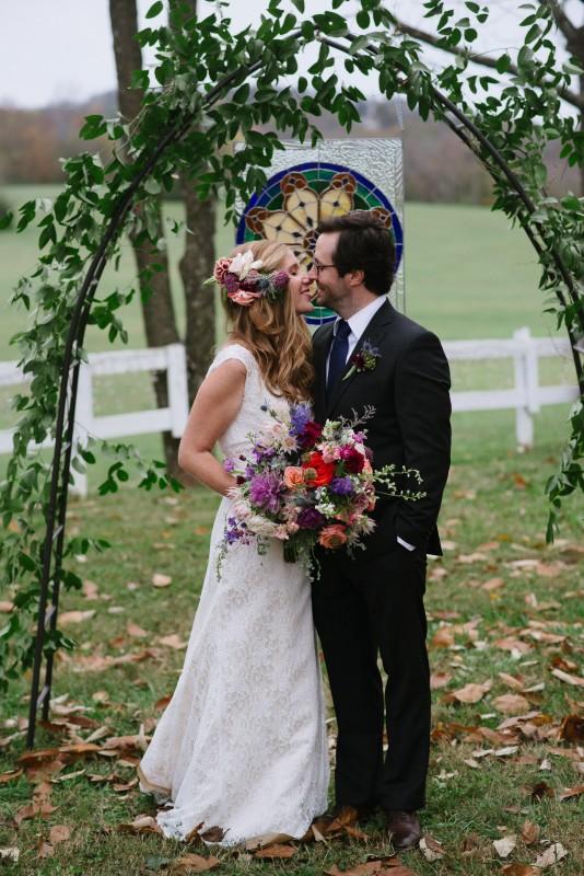 anticipation-kiss-534x800 Laurie + Craig - Antrim Wedding | Columbia, TN