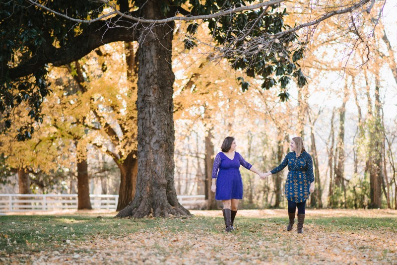 beautiful-fall-engagement-session-800x534 Amy + Tara Engagement Session | Nashville, TN
