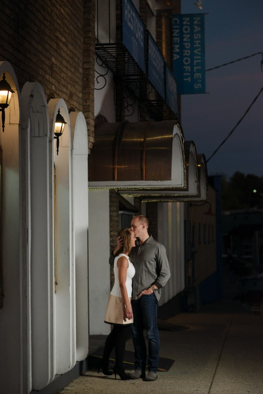 belcourt-theater-potrait-534x800 Nicole + Kevin | Nashville, TN Engagement Session