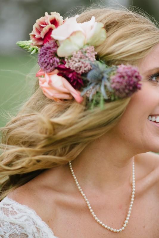 bridal-hair-flowers-534x800 Laurie + Craig - Antrim Wedding | Columbia, TN
