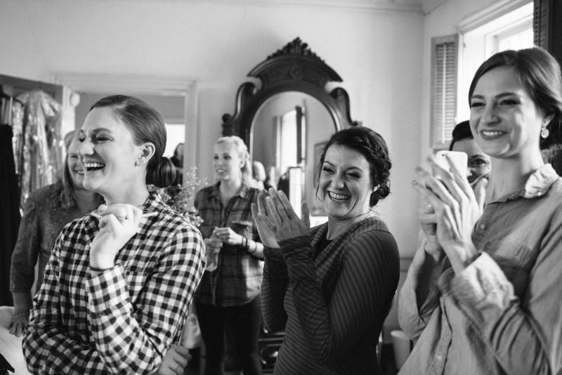 cheering-bridesmaids-800x534 Laurie + Craig - Antrim Wedding | Columbia, TN